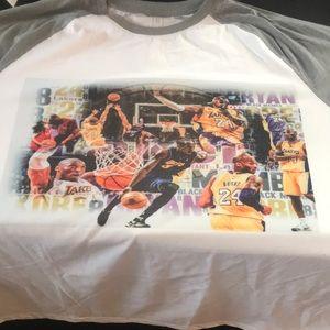 Kobe Bryant long sleeve t shirt